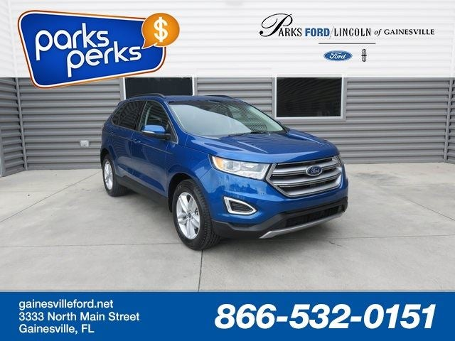 Ford Edge Sel In Gainesville Fl Jacksonville Ford Edge Parks Ford Of Gainesville