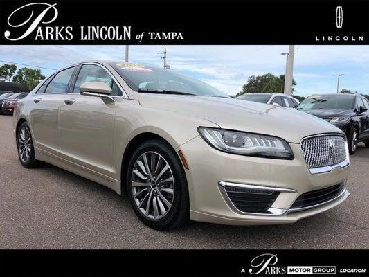 2017 Lincoln Mkz Select >> 2017 Lincoln Mkz Hybrid Select
